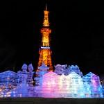 さっぽろ雪まつり_大通り会場_テレビ塔