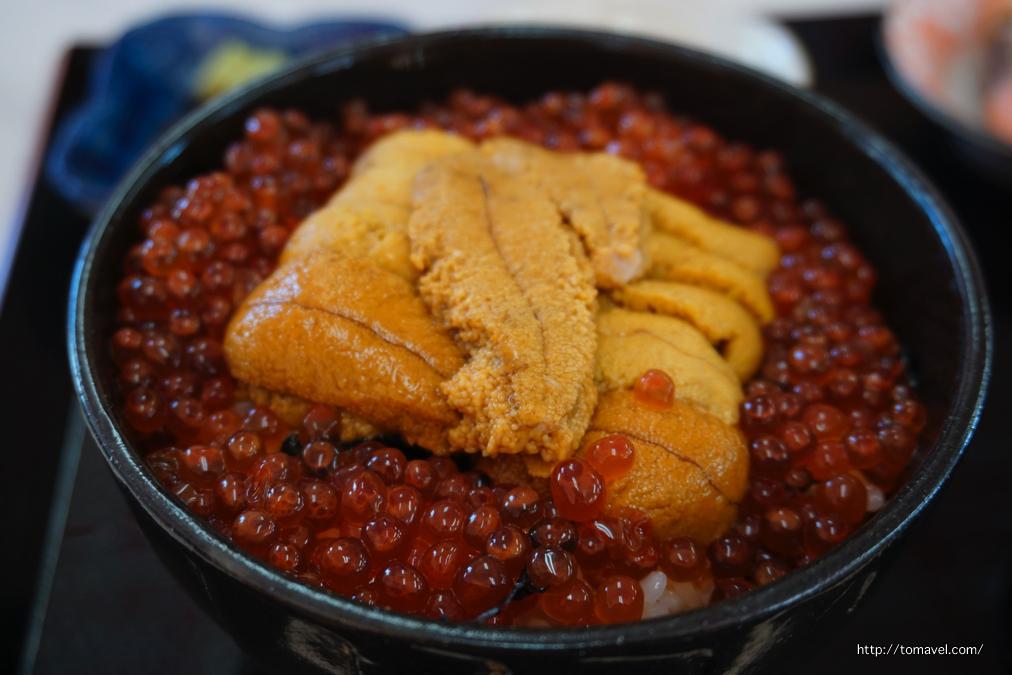 稚内の生うに丼「樺太食堂」北海道グルメ情報 | トマベル