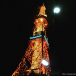 北海道観光_さっぽろテレビ塔_夜