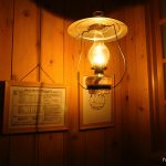 ランプの宿 青荷温泉 本館内湯 ランプ